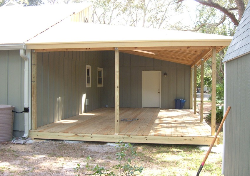 Crockett Deck (14) – Siding Industries St. Augustine
