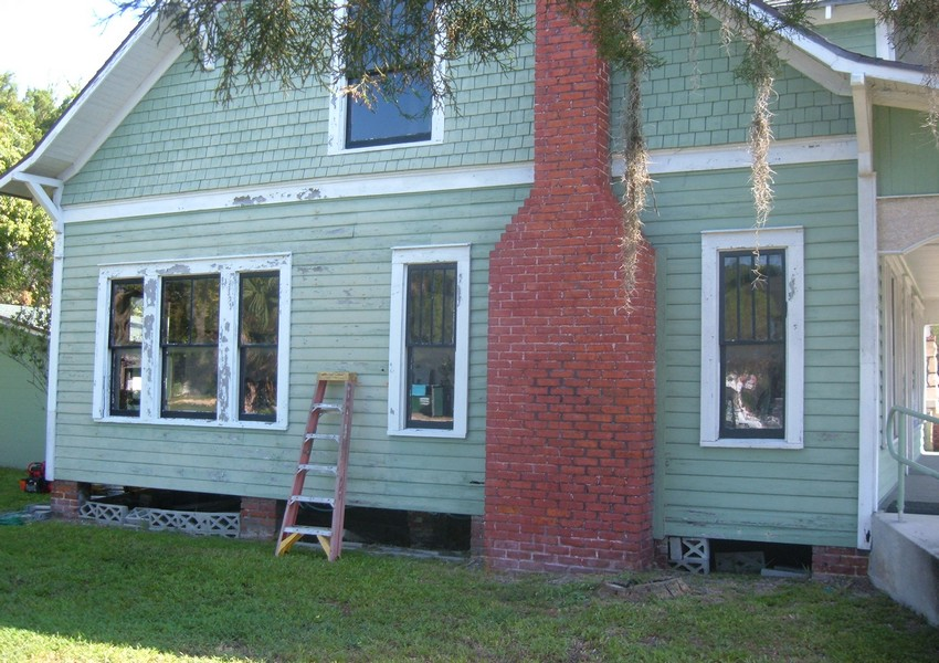 Holden House After – Siding Industries St. Augustine