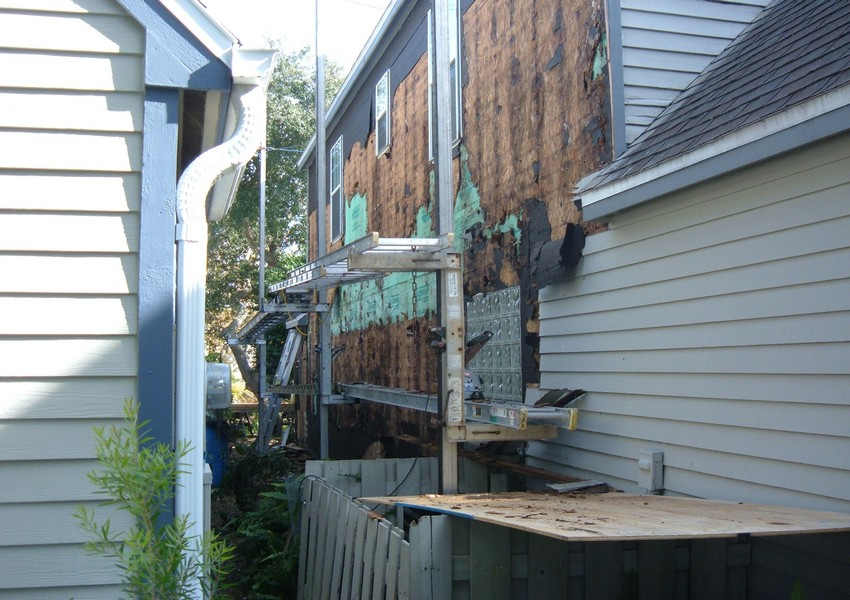 Padgett Before (3) – Siding Industries St. Augustine